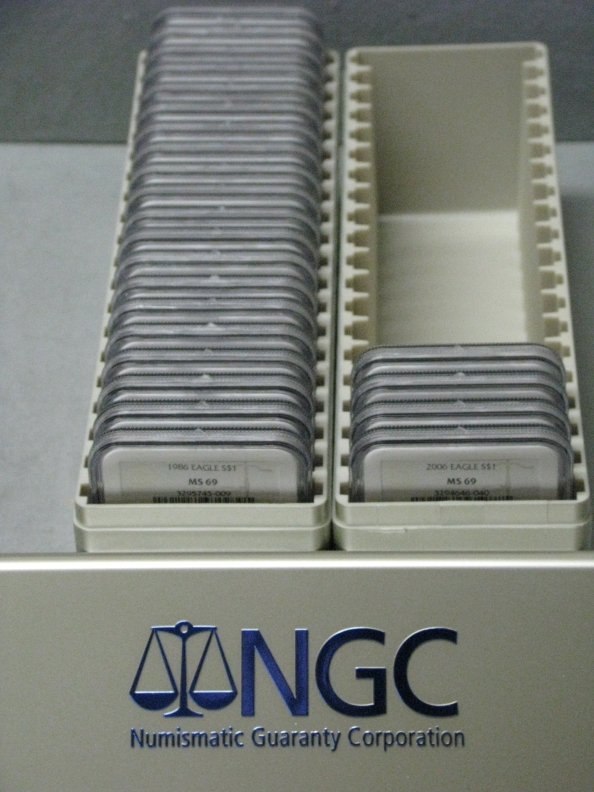 American silver eagle set ngc ms69